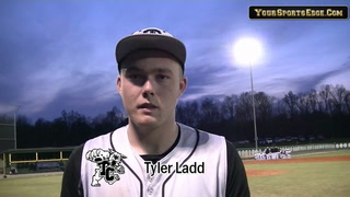Ladd Gets Pitching Win vs Lyon