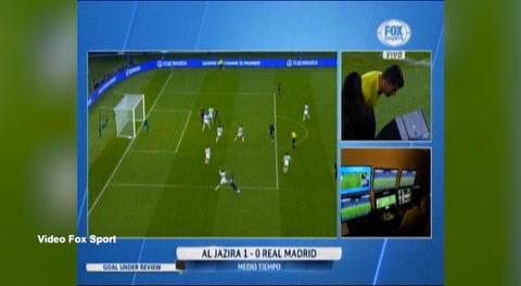 El gol que el VAR le quitó al Real Madrid ante Al Jazira en el Mundial de Clubes