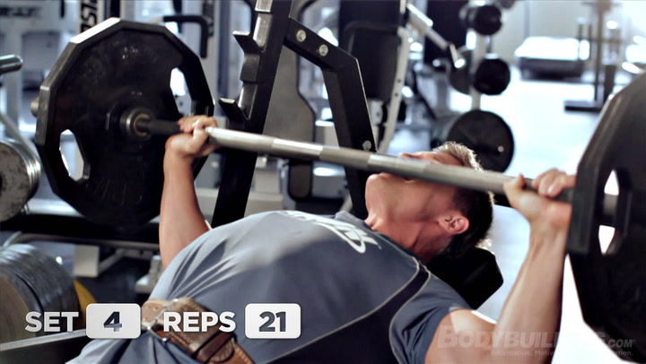 Steve Cook Chest and Triceps Workout | Big Man on Campus