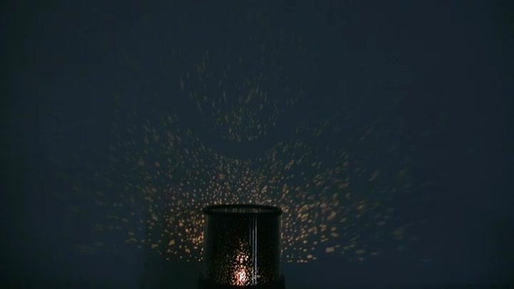 Night Stars Bedroom Lamp Led Galaxy Light