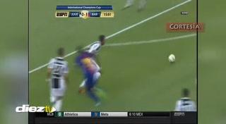 Barcelona derrota 2-1 a Juventus con doblete de Neymar en el estreno de Valverde