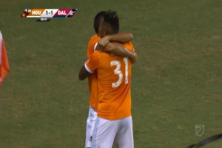 Houston Dynamo empata 1 - 1 ante el FC Dallas