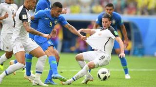 Brasil elimina a Costa Rica del Mundial de Rusia 2018