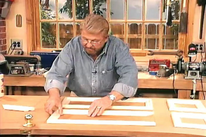 How to Make a Flat Door into a Paneled Door by Adding Molding : make door - pezcame.com