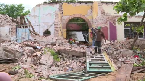 A 96 sube la cifra de muertos por terremoto en México