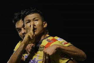 Iván López anota el empate 1 - 1 de Real España ante Honduras Progreso