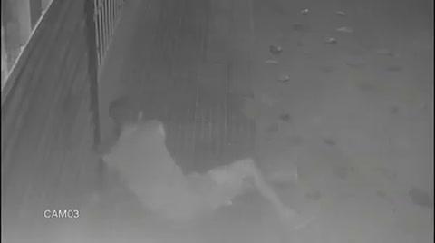 Escurridizo ladrón se mete en un local ubicado en el centro de la ciudad de Tocoa