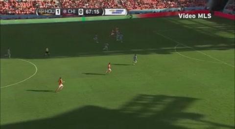 Gol de Romell Quioto con Houston Dynamo ante Chicago Fire