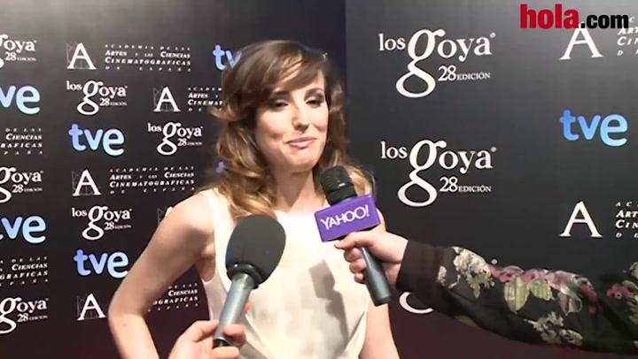 Natalia Molina, nominada al Goya como actriz revelación: 'Estoy nerviosa porque soy una novata'