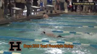 Boys 200 Yard Freestyle Relay