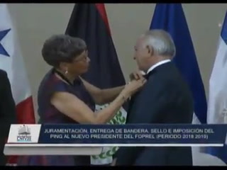 Titular del CN, Mauricio Oliva, asume presidencia de Foprel