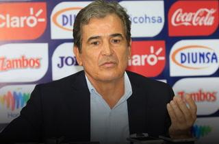 Futuro de Jorge Luis Pinto con Honduras se definiría el próximo mes de enero