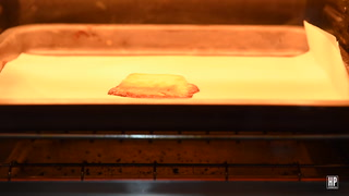 Watch A Japanese Kit-Kat Bake In A Toaster Oven