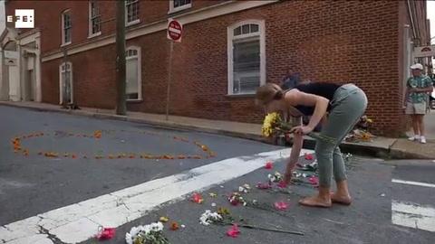 Trump usa la simbología confederada para dejar atrás Charlottesville