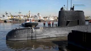 Incertidumbre: Buscan submarino argentino desaparecido