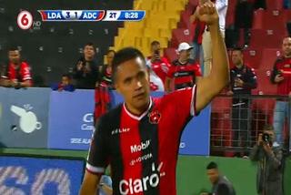 Alex López asiste y Roger Rojas anota su gol 16 con la camisa del Alajuelense