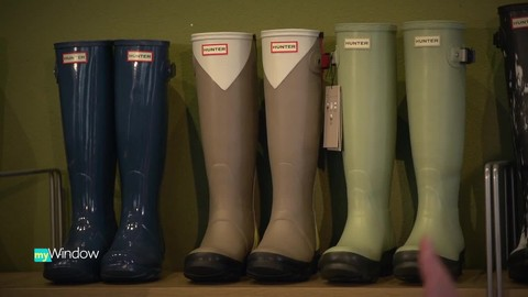 Hit the puddles in Hunter Boots