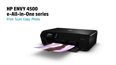 HP ENVY 4500 e-All-in-One Printer Series Overview
