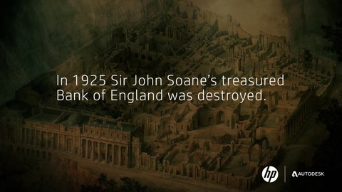 Join the mission to render history with Project Soane