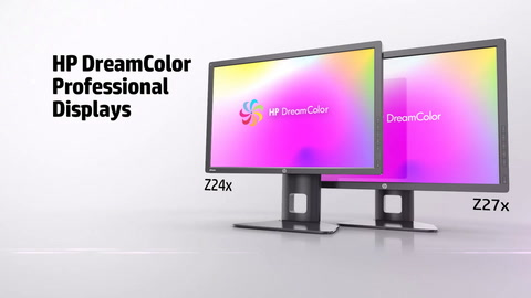 HP DreamColor Professional Displays
