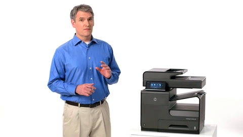 HP Officejet ProX MFP Easy Color Training Video
