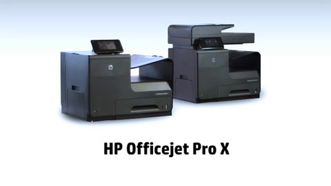 HP Officejet Pro X - Print sharing