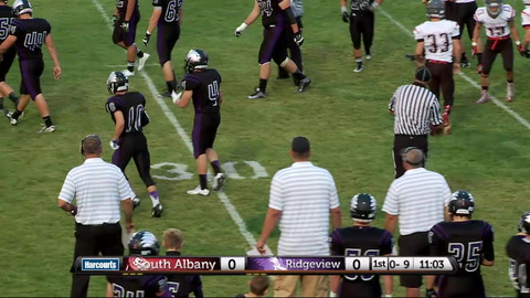High school football game – South Albany @ Ridgeview High School 9/11/15