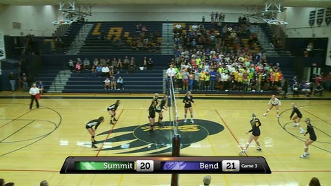 2014/15 HS Volleyball, Summit vs Redmond
