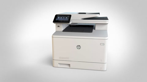 Inside an HP LaserJet with JetIntelligence Printer