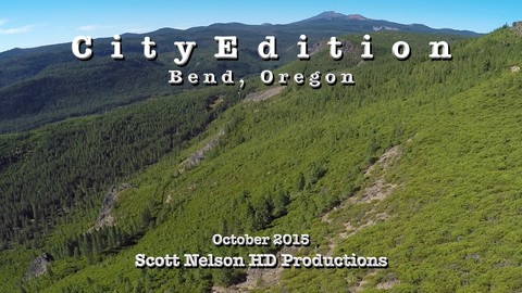 City Edition, Bend, Oregon, October 2015