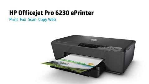 HP Officejet 6230 Series Printer Overview Video for EMEA