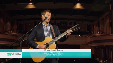 Franchot Tone talks about his concert at the Tower Theatre and performs on myWindow