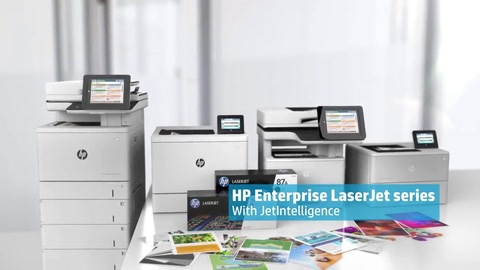 HP LaserJet 500 series with JetIntelligence—The world's most secure printers