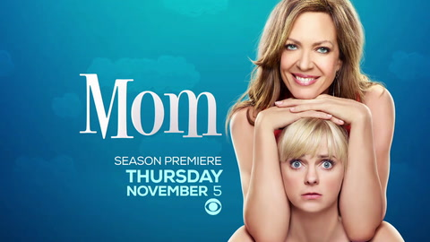 Mom premieres on Thursday!