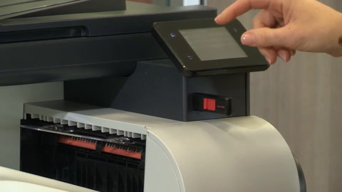 Walk up and print or scan with a portable USB drive
