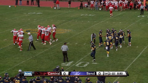 High school football game – Central @ Bend Senior High School 9/4/15