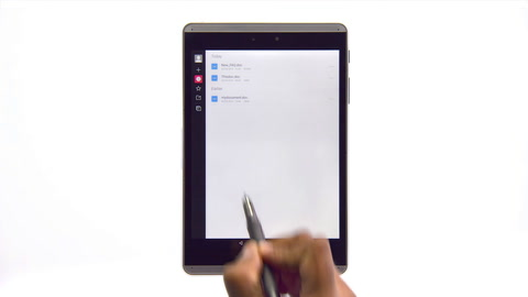 Using the HP Duet Pen to annotate on screen
