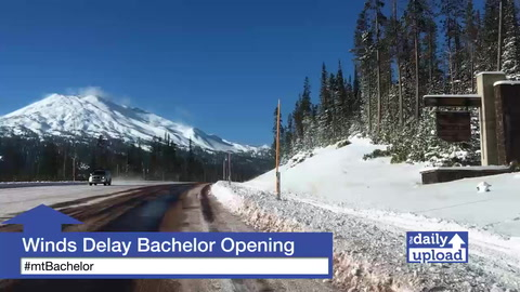 Strong Winds Delay Mt. Bachelor's Opening Day