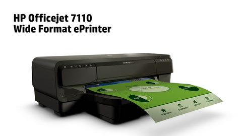 Officejet 7110 Wide Formt ePrinter Product Overview