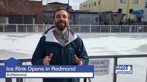 Downtown Redmond Ice Skating Rink