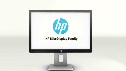 HP EliteDisplay E-series – your everyday Elite experience