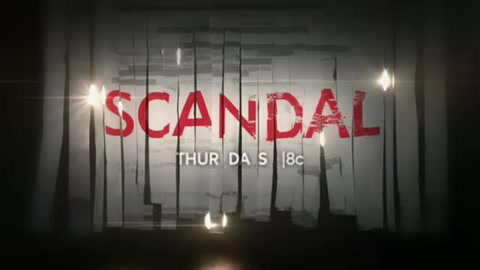 Scandal – Thursdays, 9pm