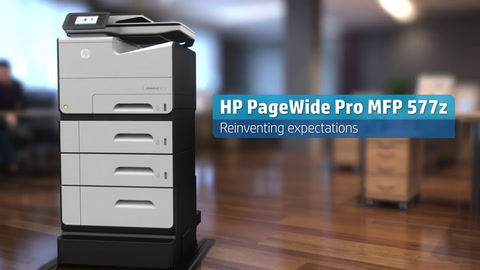 US Eng PageWide Pro MFP 577z 15 sec Product video