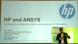 2016 ANSYS Convergence Conference - Presentation by HP