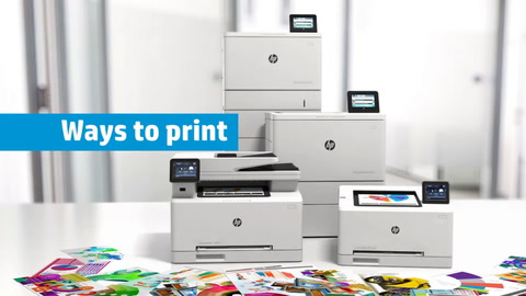 The all new HP LaserJets—for the leaner, faster, smarter office
