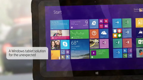 HP ElitePad Rugged Tablet with Intergraph Mobile Responder and Microsoft Product Demo