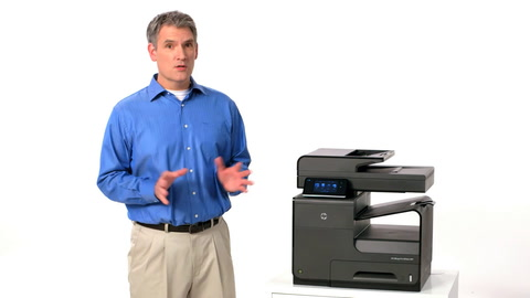 HP Officejet ProX MFP Conserve Training Video