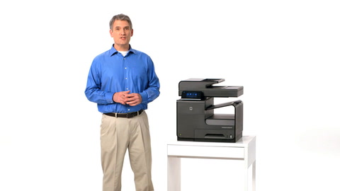 HP Officejet ProX MFP Intro Training Video