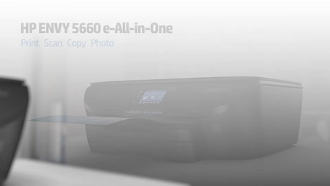 HP ENVY 5660 e-All-in-One Printer Series Overview