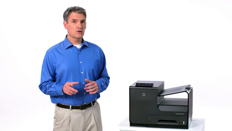 HP Officejet ProX SFP Easy Color Training Video